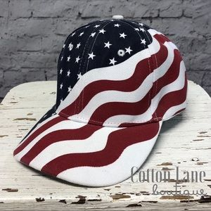 Unisex American Flag Baseball Hat Cap